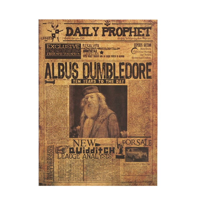 Poster - Albus Dumbledore - Harry Potter - Reino Geek