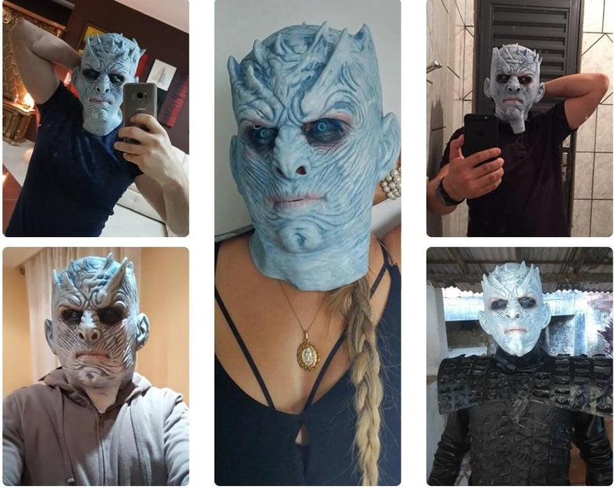 Máscara Cosplay - Game Of Thrones - Rei da Noite