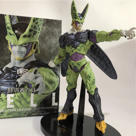 Action Figure - Cell Forma Final - Dragon Ball Z - Reino Geek