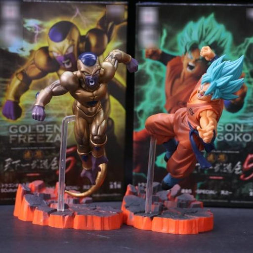Action Figure - Freeza VS Goku - Dragon Ball Z - Reino Geek