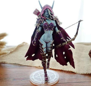 Action Figure - Sylvanas Windrunner - World of Warcraft - Reino Geek