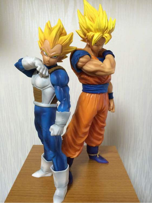 Action Figure - Vegeta e Goku - Dragon Ball Z - Reino Geek