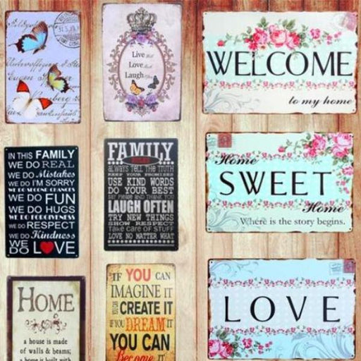 Placa Decorativa - Portas e Paredes - Home - Reino Geek