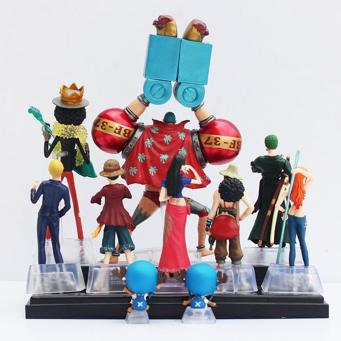 Action Figure - One Piece - Kit 10 Peças - Reino Geek