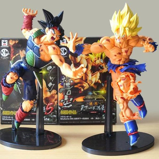 Action Figure - Goko & Bardock - Dragon Ball Z - Reino Geek