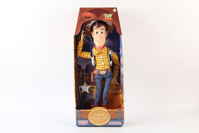 Action Figure - Woody - Toy Story - 43cm - Reino Geek