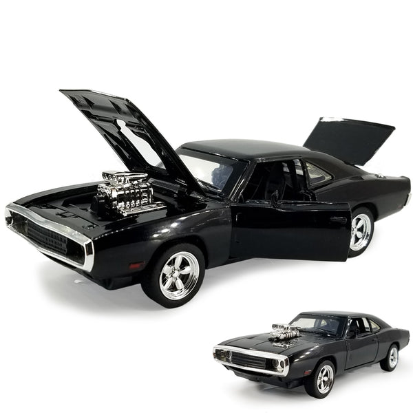 Miniatura Dodge Charger R/T 1970 -Velozes e Furiosos - Carro do Dominic Toretto