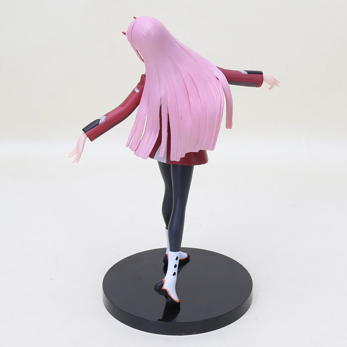 personagem do cabelo rosa Action Figure - Darling in the Franxx - Zero Two