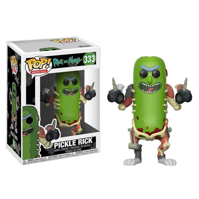 Funko POP - Pickle Rick - Rick and Morty