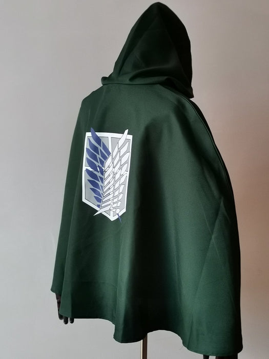 Cosplay - Attack on Titan - Capa Legion - Reino Geek