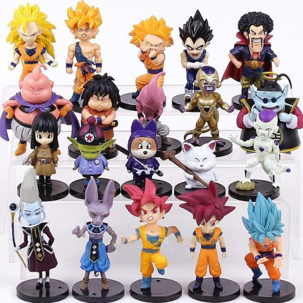 Miniatura - Dragon Ball Z - Kit 20 Unidades