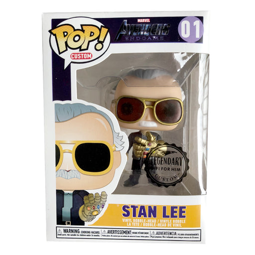 FUNKO POP - Stan Lee com Manopla do Infinito - Edição Limitada