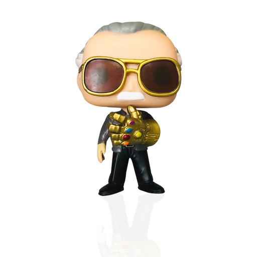 funko do stan lee com a manopla do infinito - marvel - vingadores