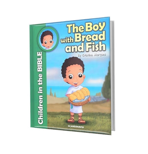 CHILDREN IN THE BIBLE-BOY WITH BREAD AND FISH