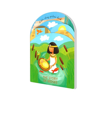 BIBLE STORY PICTURE BOOK-THE STORY OF MOSES