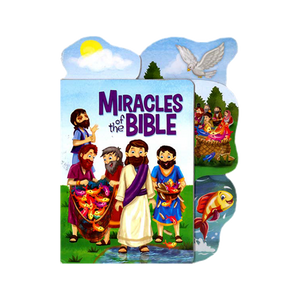 BIBLE TABBED BOARD BOOK-MIRACLES