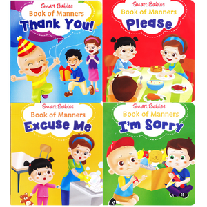 SMART BABIES BOOK OF MANNERS