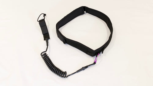 stand up paddle waist leash black