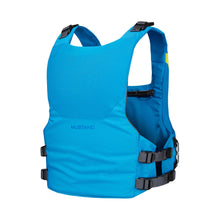 Load image into Gallery viewer, Mustang Survival Khimera Dual Flotation PFD back of blue