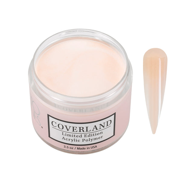 "Coverland Limited Edition Acrylic Powder 3.5 ""Peachy Nue"" 