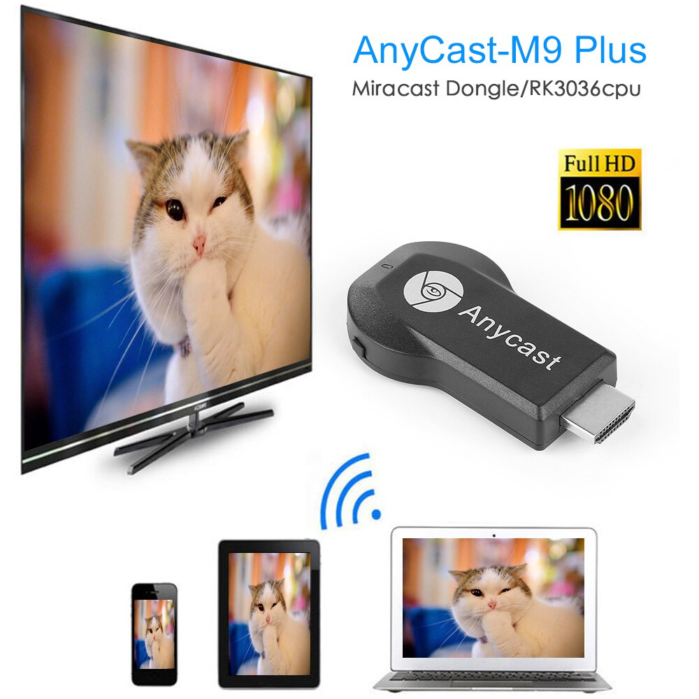 4K HD 2.4G/5G WiFi Dual Frequentie Wireless HDMI TV Same Screen Receiver