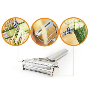New Stainless Steel Grater Peeler Double Planing