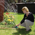 Garden Automatic Multi-Head 360 Adjustable Sprinkler