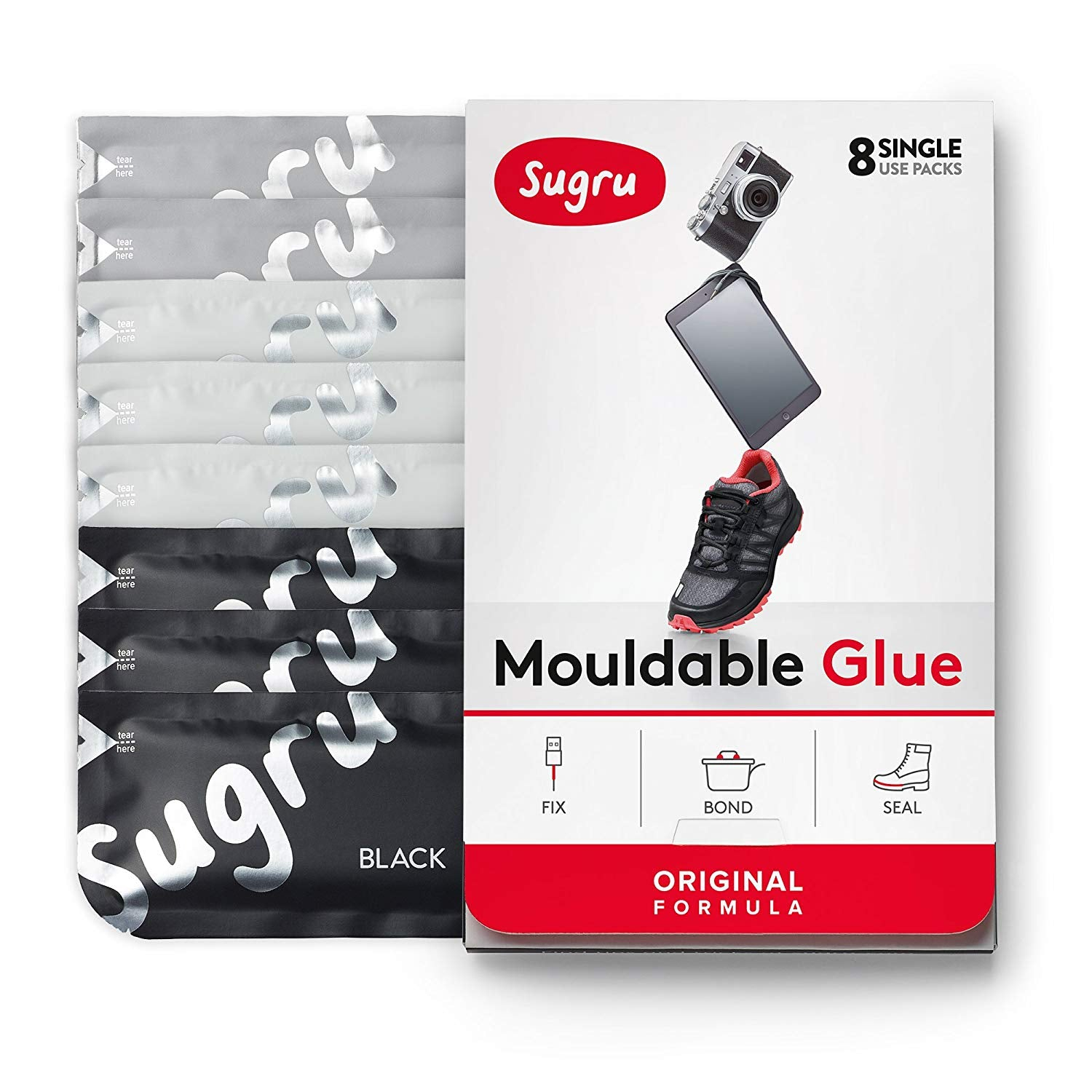 Moldable Glue - Classic Colours 8-Pack