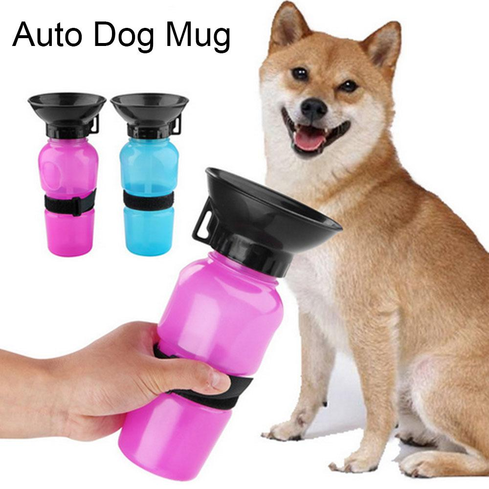500ml Pet Auto Dispenser Water Bottle