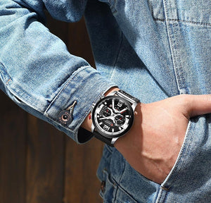 🔥2019 New Style🔥Chronograph Men's CURREN Watch