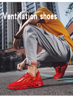 2019 New Fashion Mens Wearable Breathable Sneaker Shoes