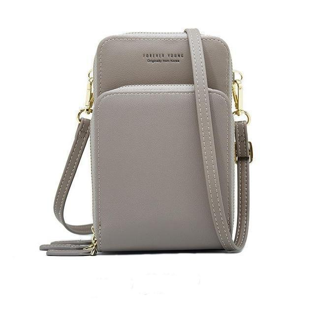 2019 Crossbody Leather Cell Phone Shoulder Bag