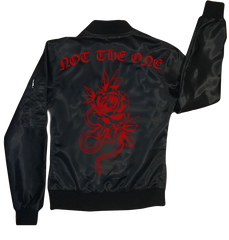 "Joice Wang x Chi Flo - ""Not the One"" Bomber Jacket"