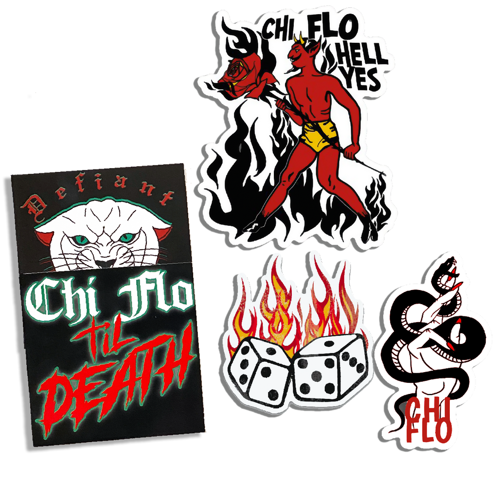 Devil in Vegas Premium Sticker Pack - Chi Flo