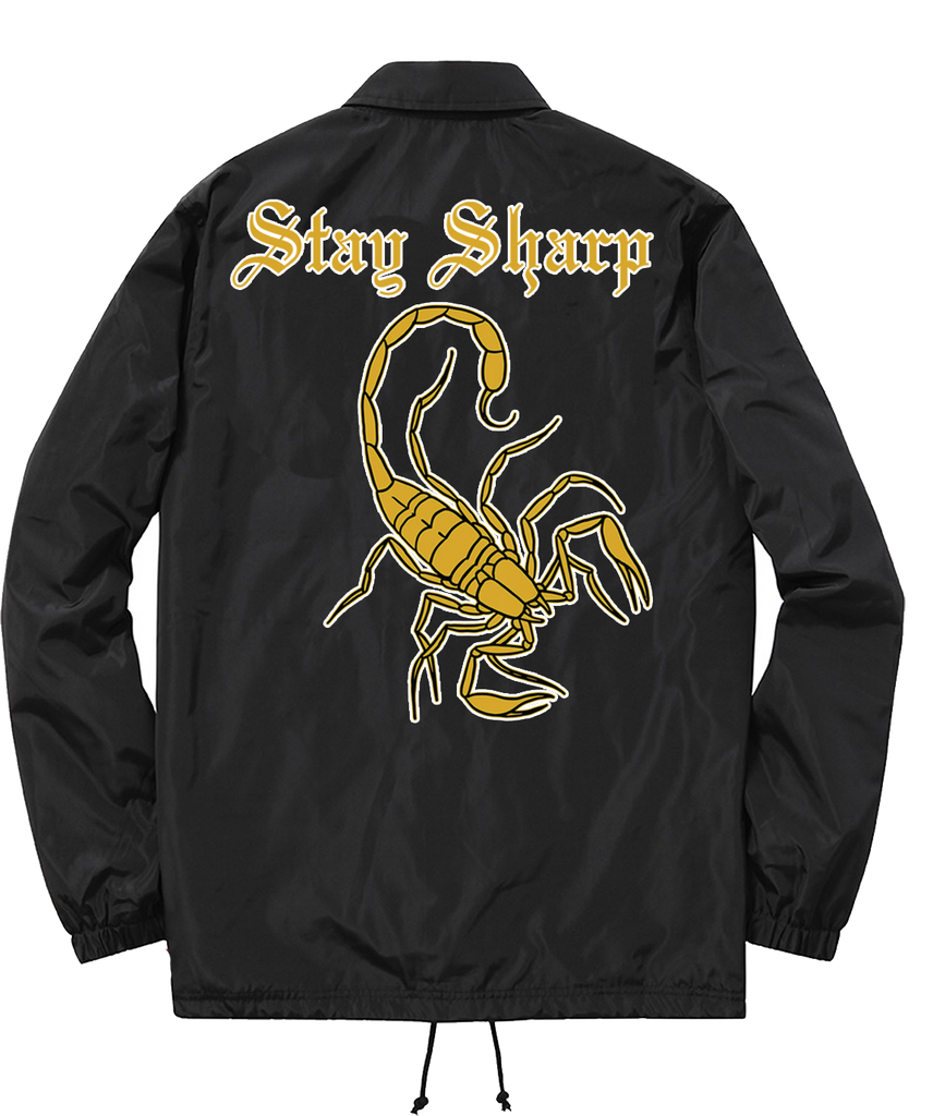 Stay Sharp Coach Jacket - Chi Flo