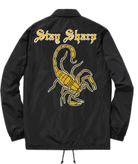 Stay Sharp Coach Jacket