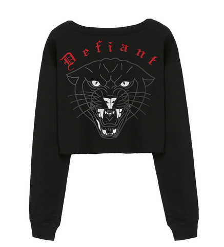 Defiant Cropped Sweater