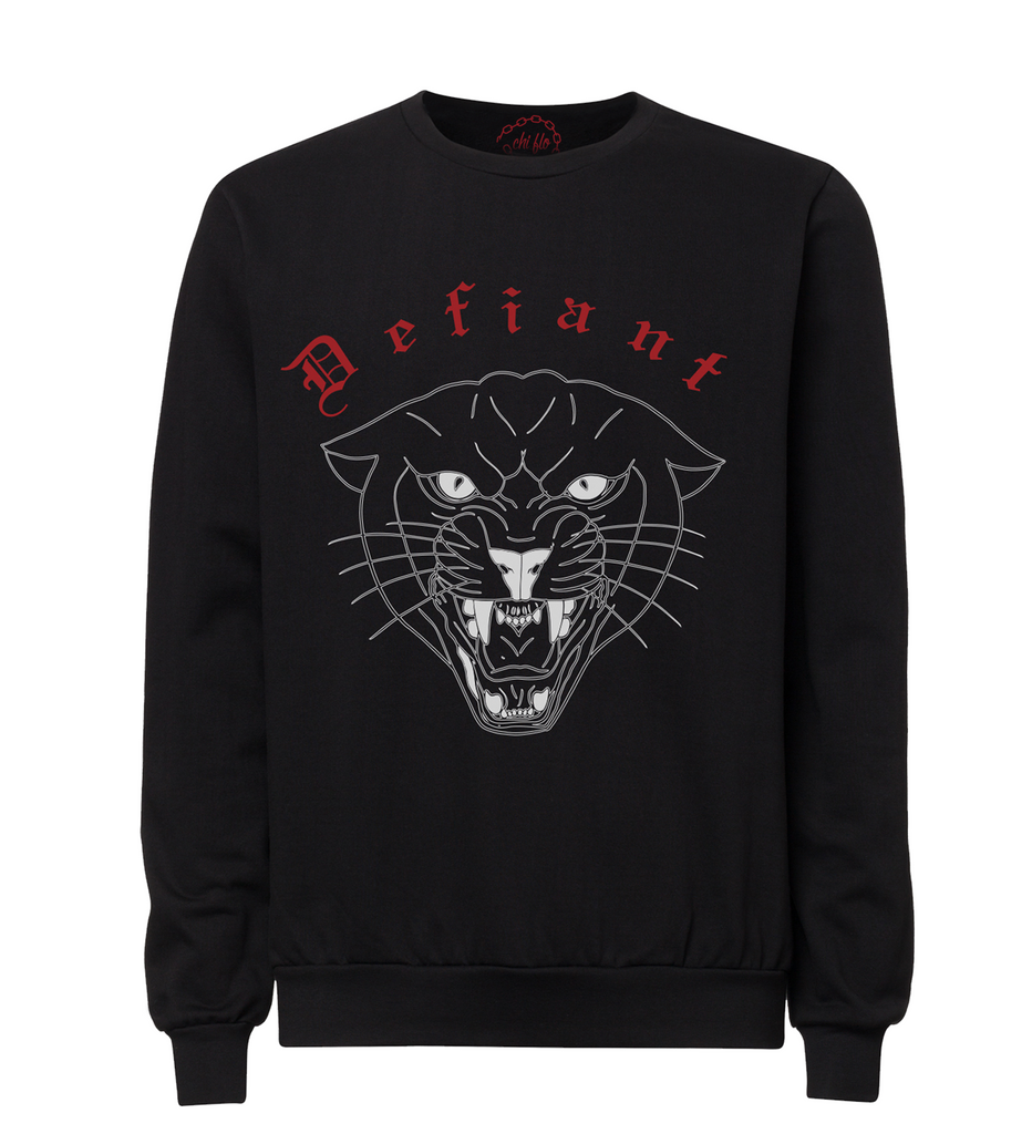 Defiant Crew Neck Sweater