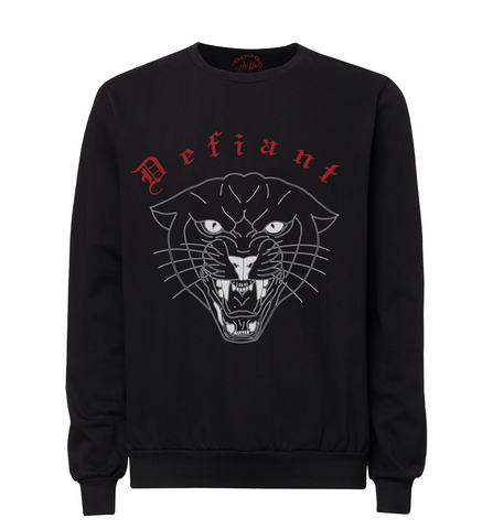 Defiant Crew Neck Sweater - Chi Flo