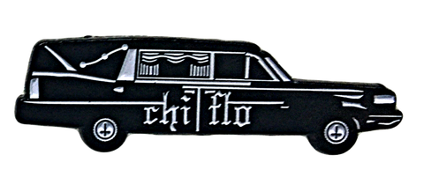 Hearse Lapel Pin - Chi Flo