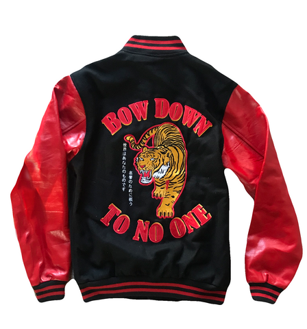 Fight for Honor Varsity Jacket - Chi Flo