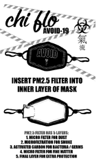 COMIN' UP ROSES FACE MASK (PM2.5) - Chi Flo