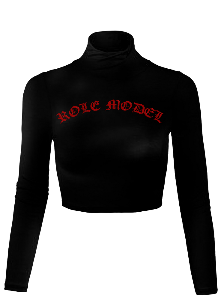Role Model Cropped Turtleneck