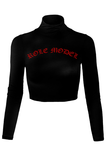 Role Model Cropped Turtleneck - Chi Flo