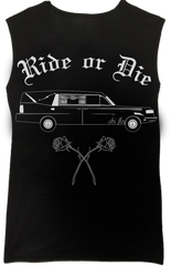 Ride or Die Muscle Tank - Chi Flo