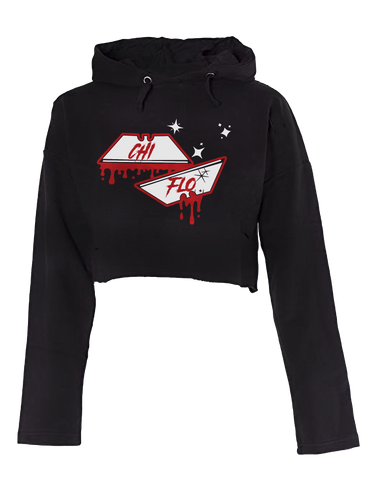 The Edge Cropped Hoodie - Chi Flo