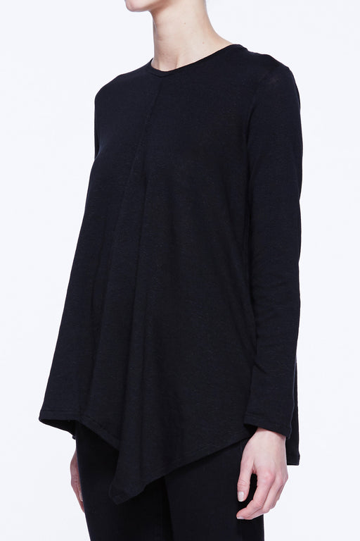 Long Sleeve Asymmetry Top