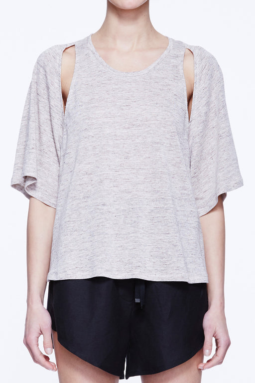Shoulder Split Tee