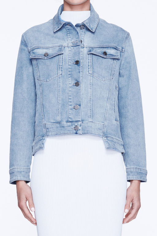Stepped Denim Jacket