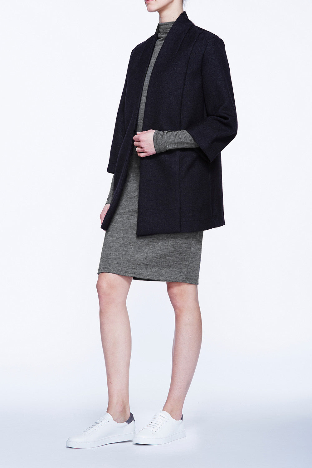 Bonded Collar Coat